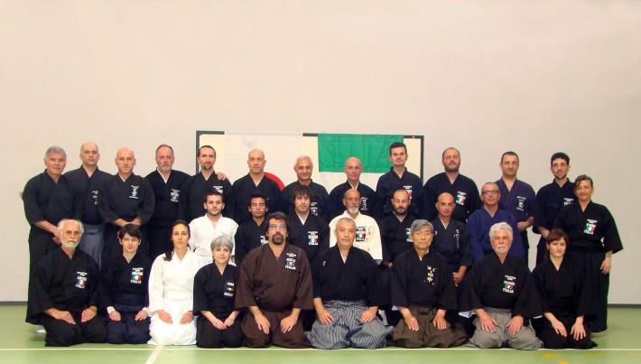 Seminario del M° Yamanaka presso il Dojo del M° Feliziani