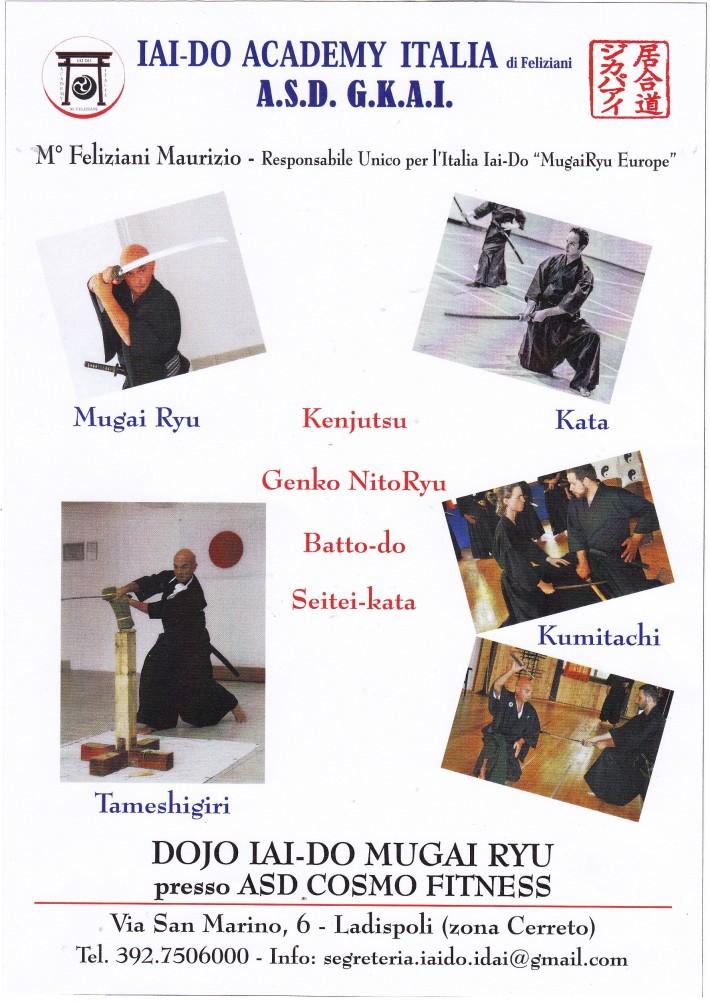 Nuova apertura Corso Iai-do Mugai Ryu a Ladispoli