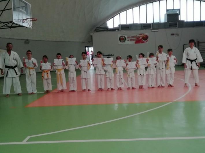 Esami Karate Kyu Giugno 2018
